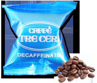 espresso, decaffeinato, caspsule, monodose, italiano