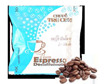 espresso, cialda, decaffeinato, monodose, italiano